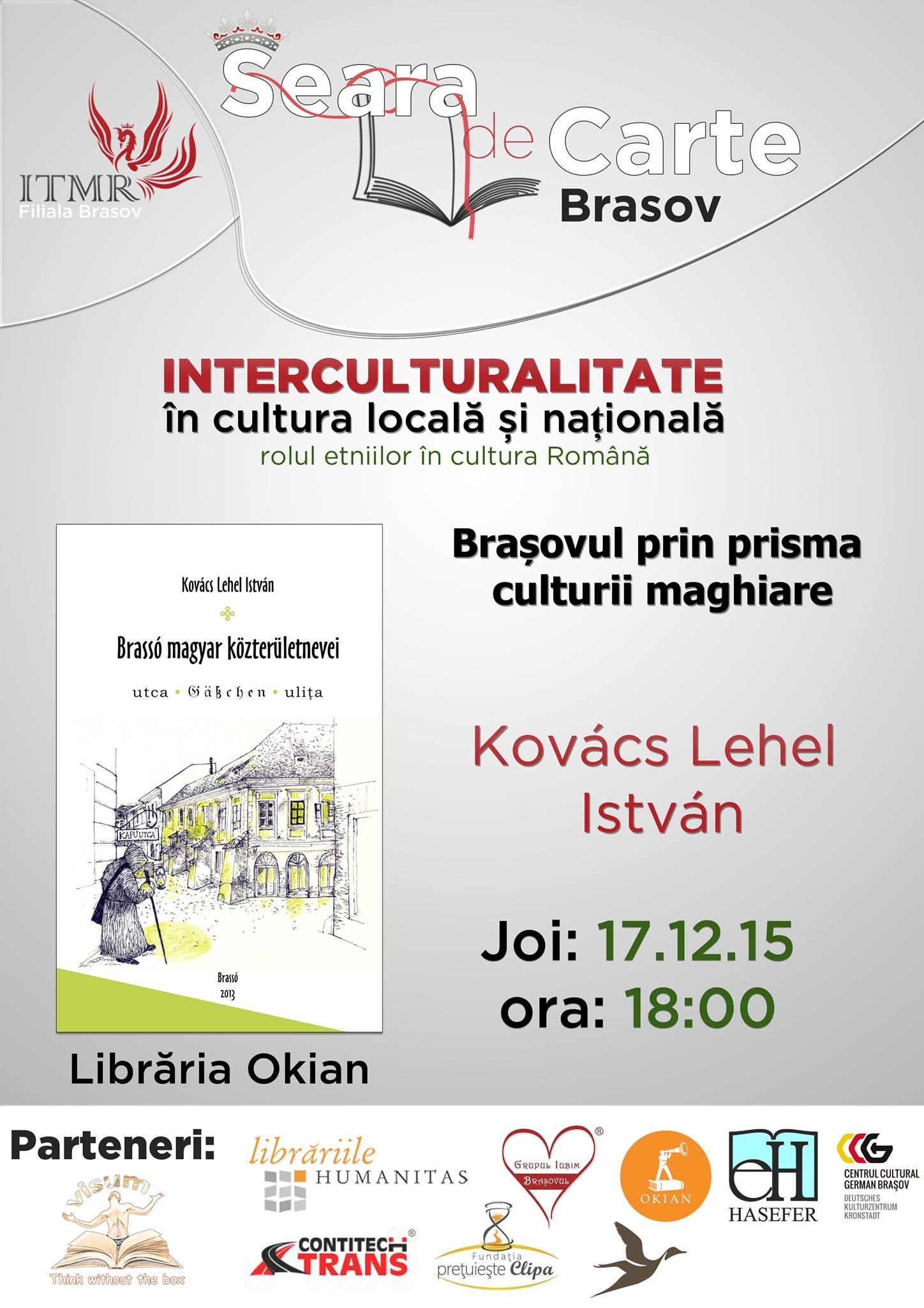 afis SdC Interculturalitate comunitatea maghiara