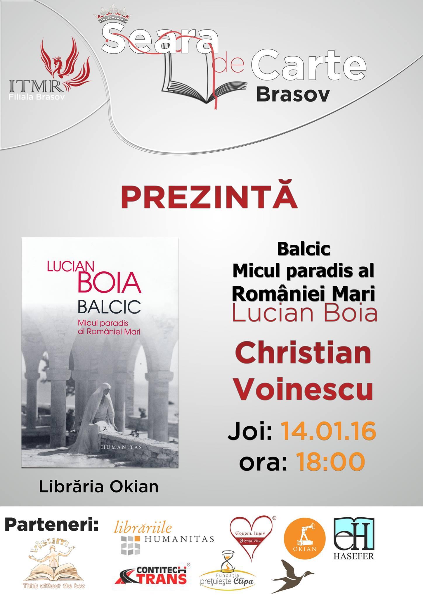 Seara de Carte Brasov - Balcic