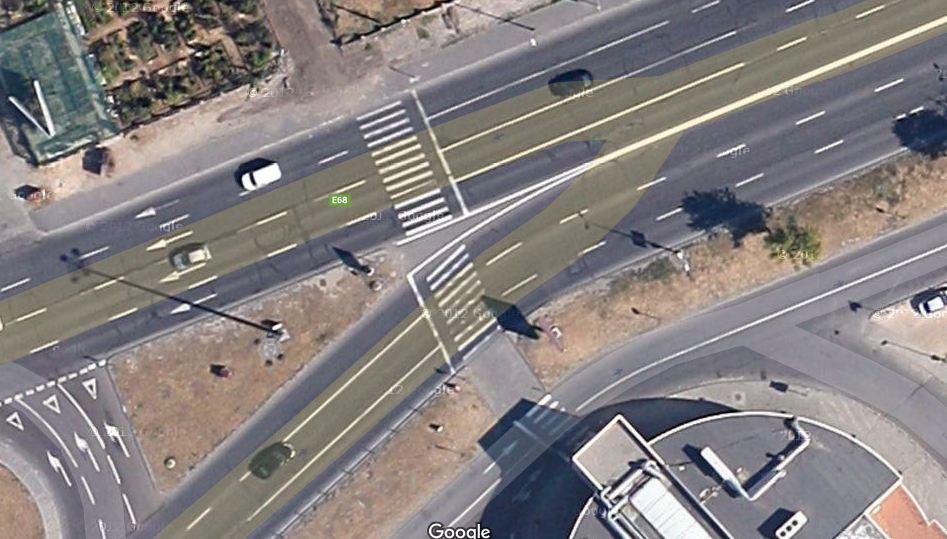 pe Calea Fagarasului la Municipal