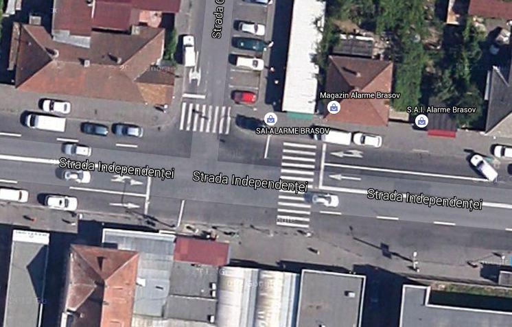strada Independentei cu General Mociulschi