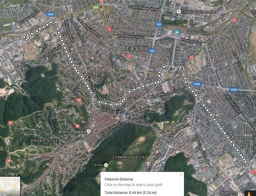 distanta-linia-5-roman-municipal