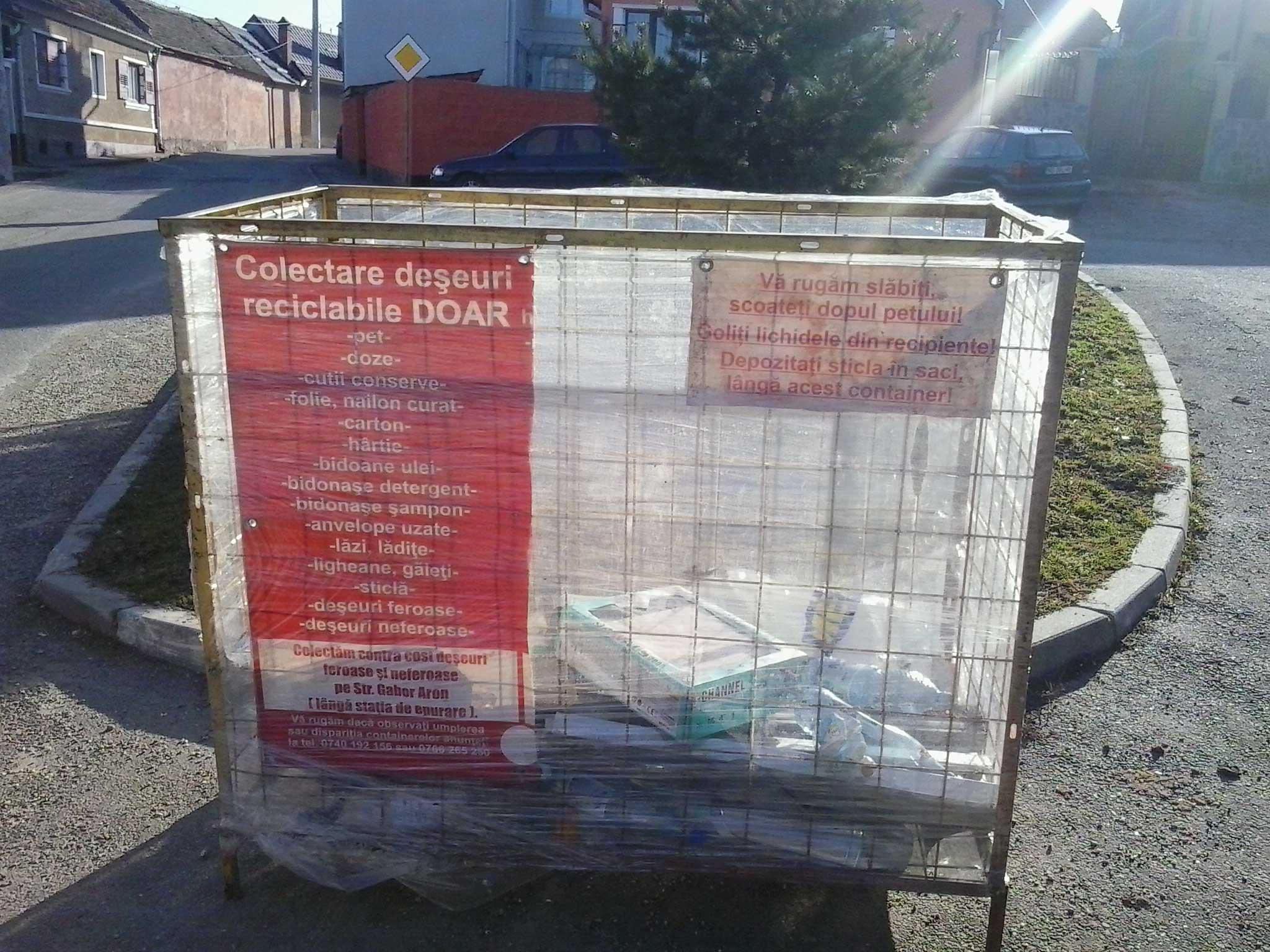 Reciclare la Codlea
